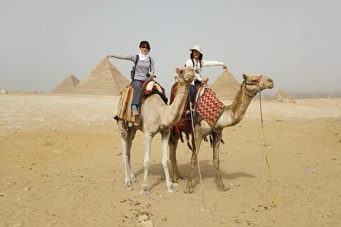 Private Tour: Giza pyramids and Saqqara and Memphis & Camel Ride photo 7