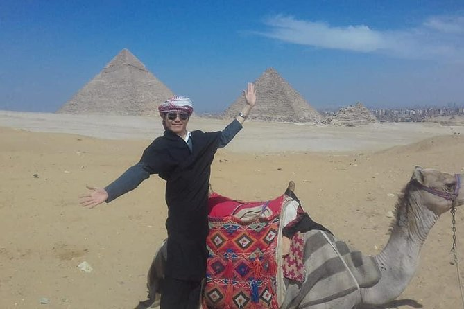 Private Tour: Giza pyramids and Saqqara and Memphis & Camel Ride photo 2