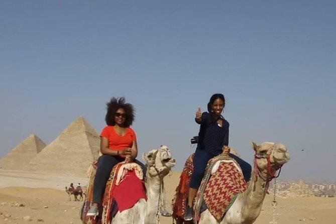 Tour: Giza pyramids and Saqqara and Memphis and Dahshur & Camel ride