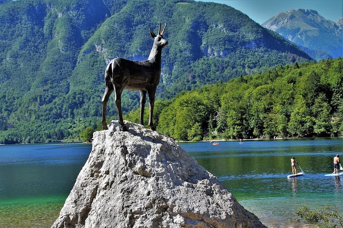 Magic of Alps, Triglav NP with Lake Bohinj & Waterfall Savica, HD Trip from Ljub