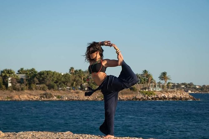 Yoga Session In Nature at Athens By The Sea