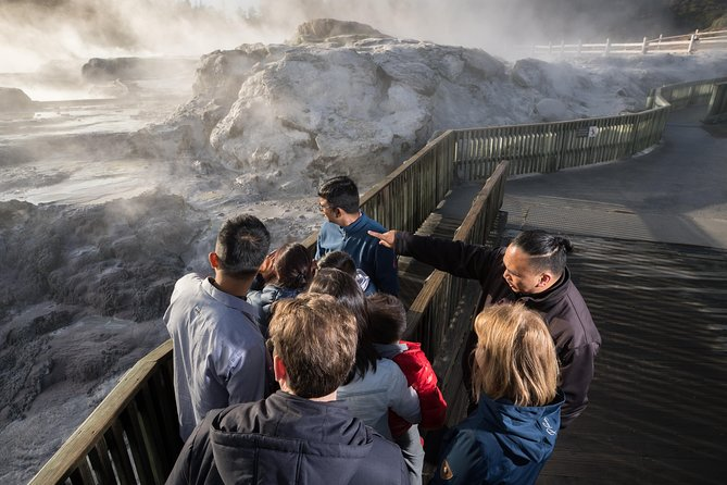 Waitomo Caves and Rotorua attractions from Auckland