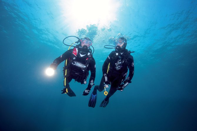 Open Water Dive Course (2 Eves and 2 Days)