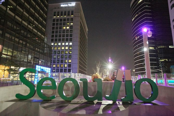 Seoul Night Tour: Sevit Some, Fountain, and Palace