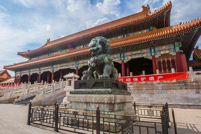 Ancestral Temple, Forbidden City, Beihai Royal Garden One Day Group Tour