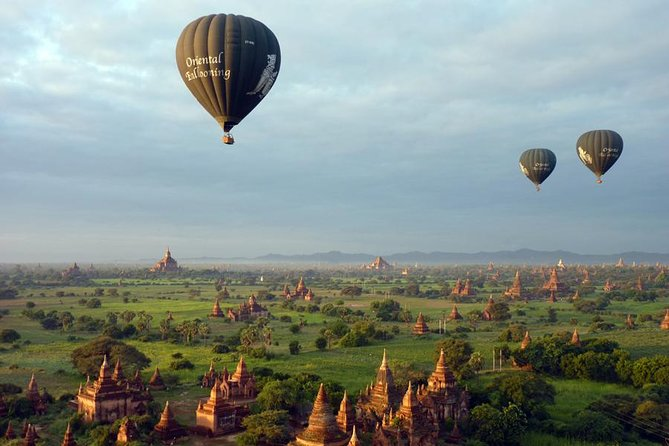 Bagan Hot Air Balloon Experience Operated from October 15, 2019 ...