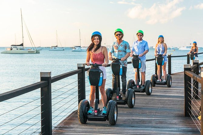 Whitsundays Segway Sunset and Boardwalk Tour with Dinner