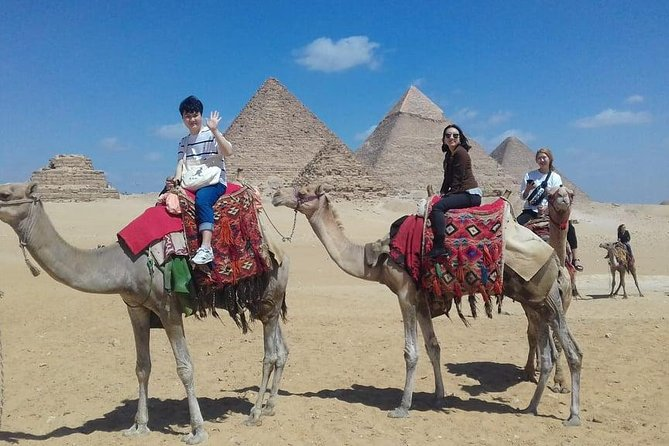 Private Tour: Giza pyramids and Saqqara and Memphis & Camel Ride photo 3