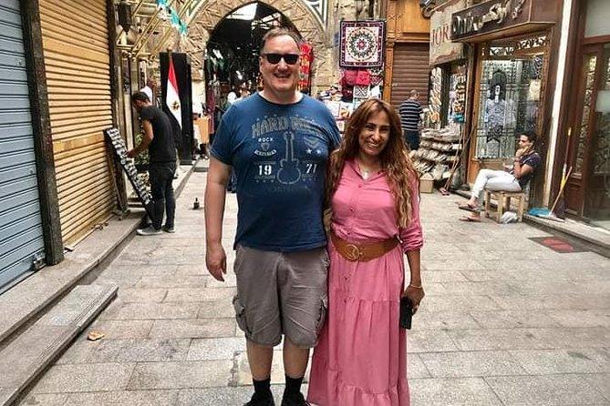 Tour: Giza Pyramids and Egyptian Museum & Khan Khalili Bazaar & Camel ride