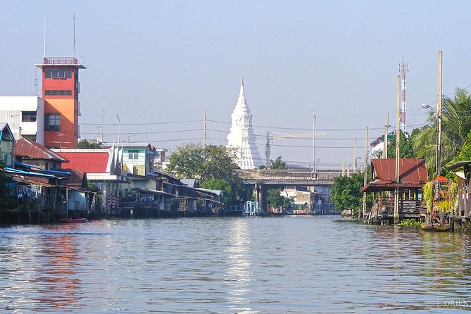 Halfday Join Tour Venice of The East Rice Barge River Cruise Tour from Bangkok