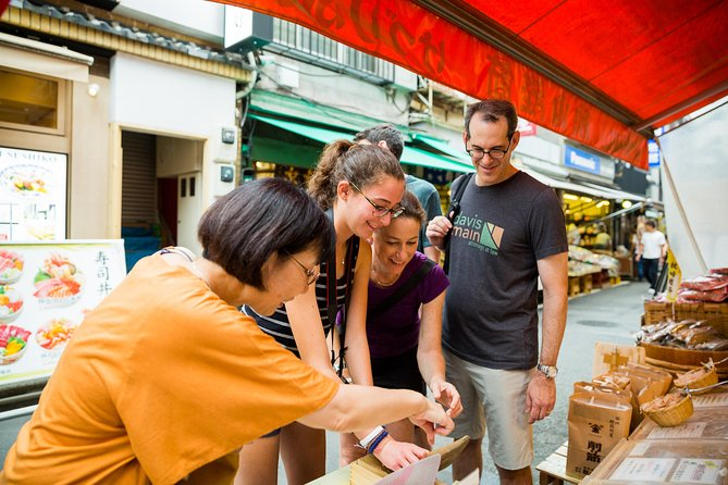 Tsukiji and Asakusa Food and Drink Cultural Walking Tour (Half day)