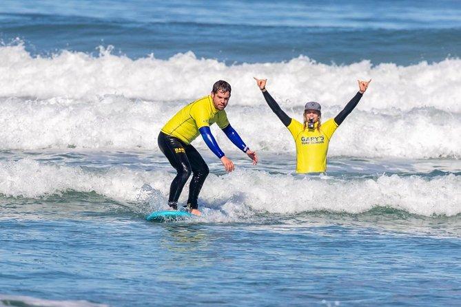Surf Lessons, Big Bay beach, Cape Town.