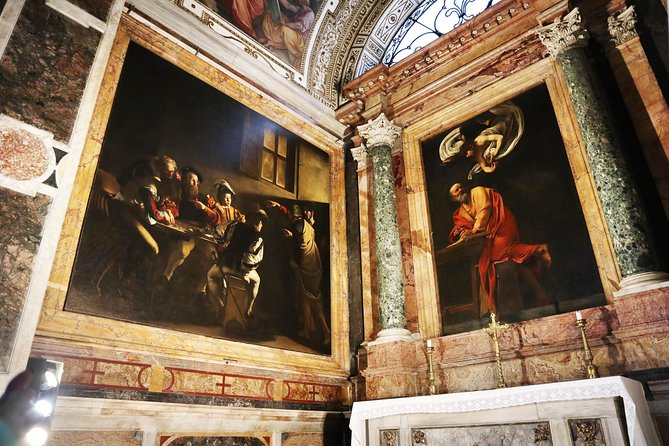 On the traces of Caravaggio: A tour of Light and Darkness