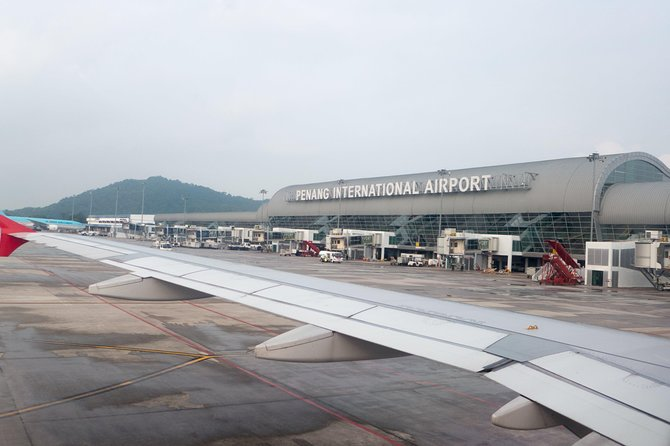 Penang Airport Private Transfer - Town Area