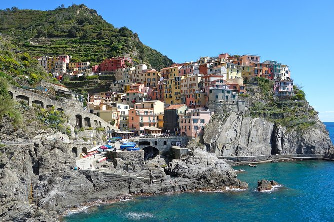 Cinque Terre from La Spezia: Private Shore Excursion with Wine & Cheese Tasting