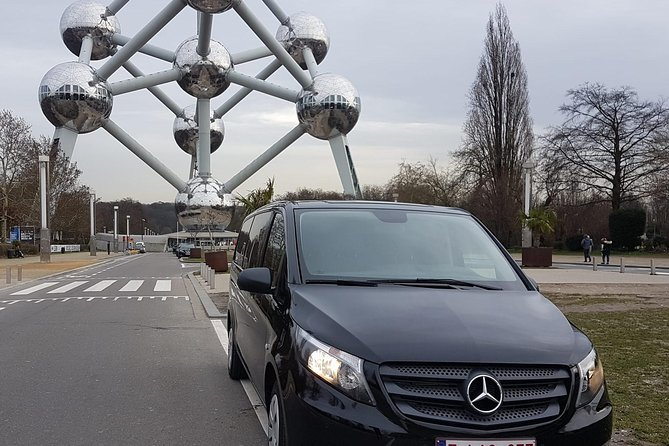 Luxury Minivan from Brussels airport to the city of Ghent