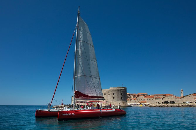 Catamaran Sailing: Dubrovnik Sea View