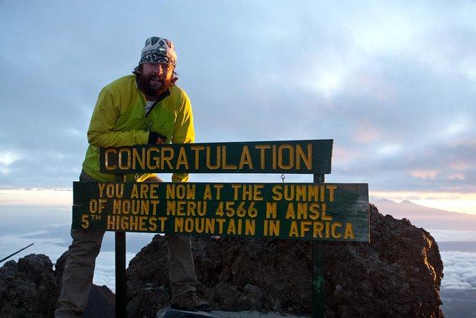 "Mount MERU Trek with ""Enjoy Kili""; in 4 Days Experience"