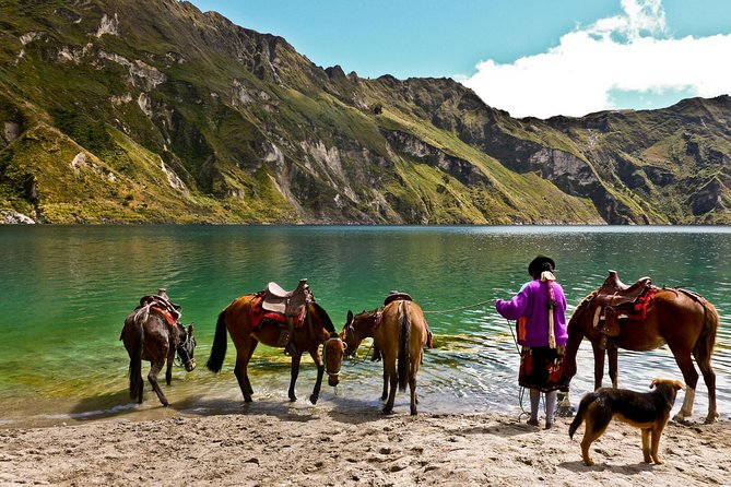 Adventure at Volcano Avenue + Quilotoa and Baños Tour + Train 6D - 5N
