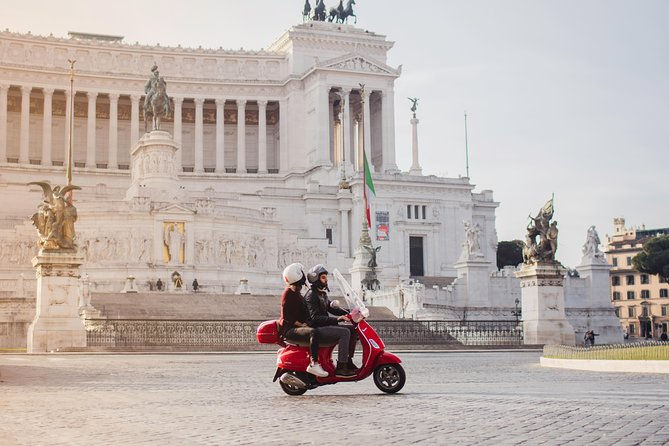 Enjoy Rome on a vintage Vespa (with a personal driver!)