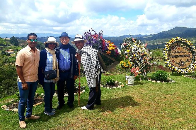 Exotic flowers farm and silleteros cultural tour