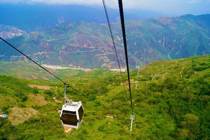 Chicamocha National Park cable car