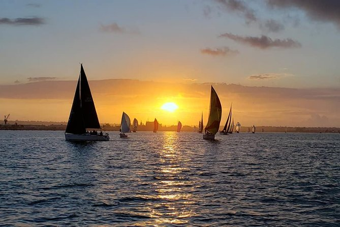 Sunset Sailing Tour of San Diego Bay up to 6 Guests