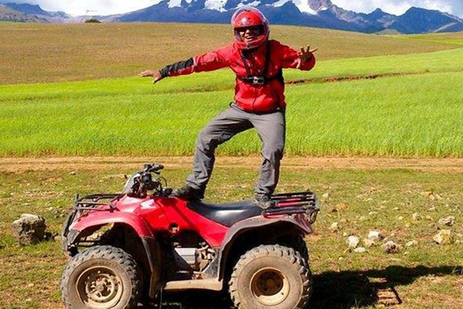 ATVs Tour in Moray and Maras, Salt Mines From Cusco (Group Tour)