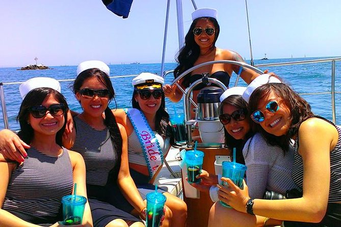 Bachelorette Sailing Party on San Diego Bay up to 12 Guests