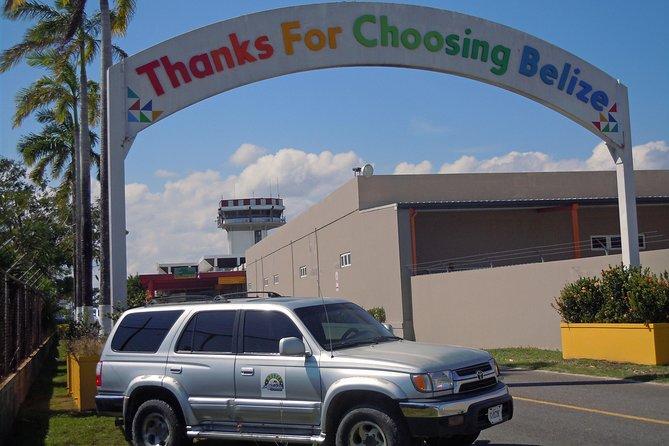 Shared Departure Transfer: San Ignacio Hotel to Belize International Airport
