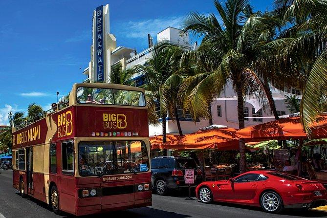 Excursão em ônibus panorâmico Big Bus Miami