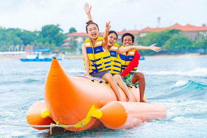 Bali Attractive Water Sport ~ Parasailing & Banana Boat