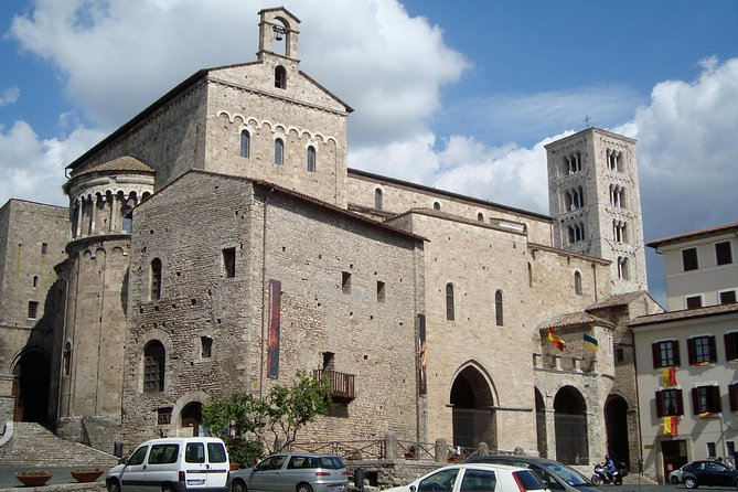 Transfer-Rome to Ravello with a 2 hour stop in Anagni Catherdal or vice versa