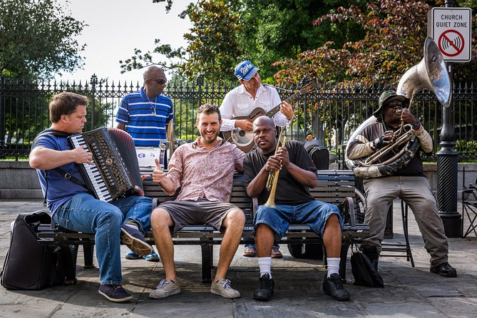 Music Gumbo - Walking Tour History of New Orleans' jazz and popular music 2PM