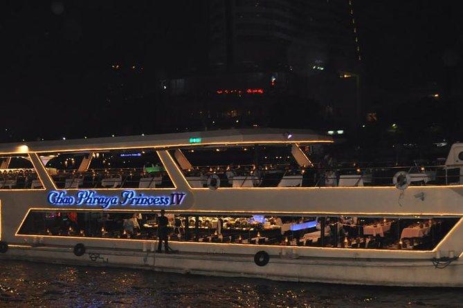 Night Join Tour Chao Phraya River Dinner Cruise Tour from Bangkok
