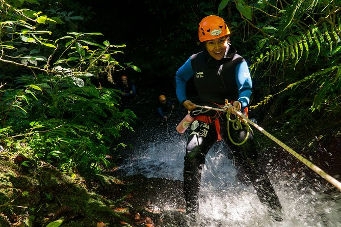 "Beginner Canyoning trip in bali ""Banyuwana canyon"""