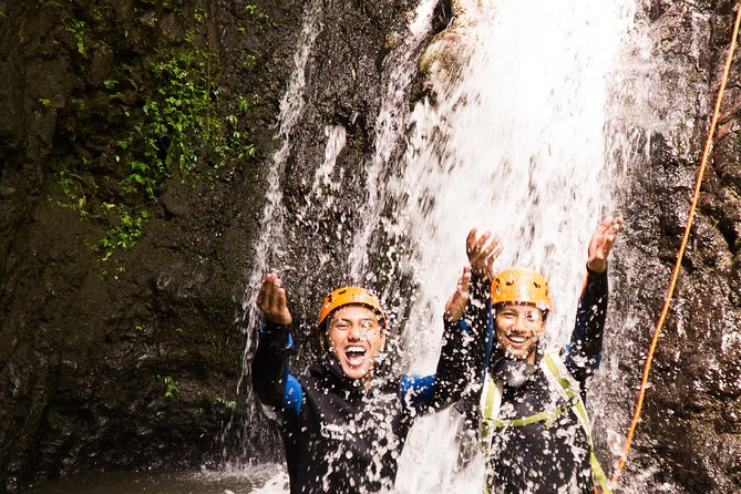 "Beginner canyoning trip in Bali ""Egar canyon """