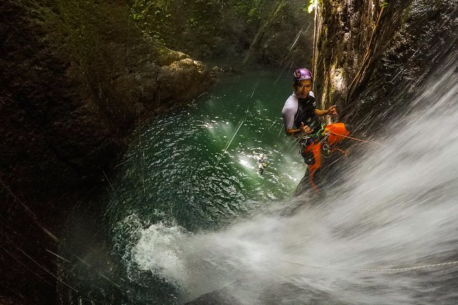 "Ultimate canyoning trip in Bali "" Aling canyon """