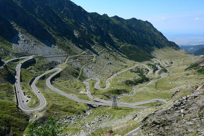 One day tour Transfagarasan , Balea waterfall, Fagaras fortress from Brasov