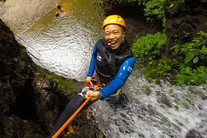 "Intermediate canyoning tour in Bali "" Maboya Canyon """