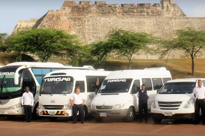 Service private transfers Airport / Hotel and vice versa in Cartagena