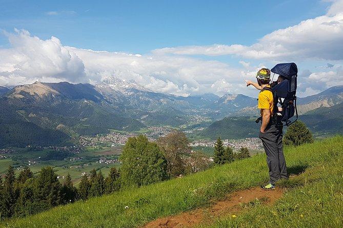 Trekking in the magic wood of Mount San Lucio and Yoga class