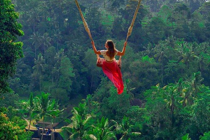 Bali Swing - Coffee Plantation - Waterfall - Ulun Danu Batur using VW Safari Car