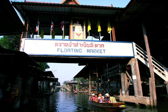 HalfdayJoin Maeklong Railway Market&Damnoensaduak FloatingMarketTour fromBangkok