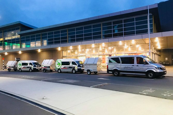 Arrival Transfer: Christchurch Airport to Christchurch Central City Hotels