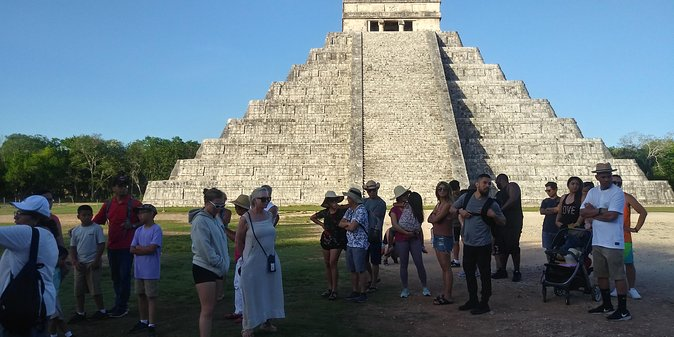 Tour Sunrise of Kukulcan in Chichen Itza at Dawn with Cenote Swimming