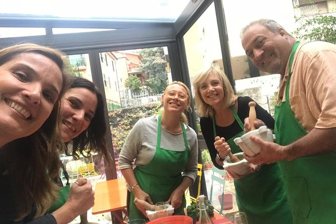 Traditional Pesto class in Levanto