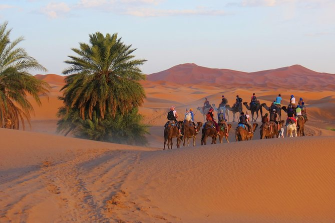 Sahara desert tour Erg Chebbi (Merzouga) - 3 Days from Marrakech