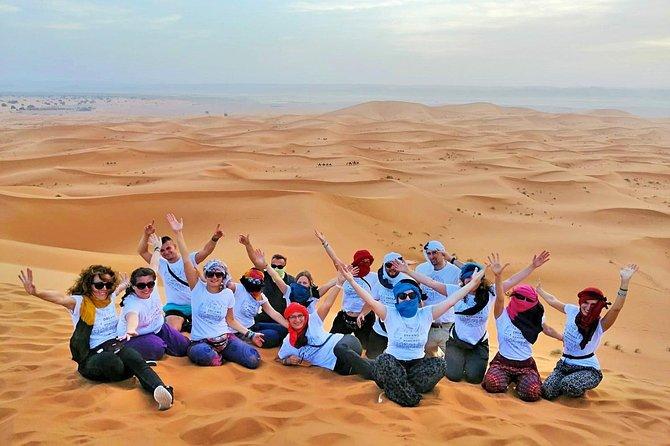 Woestijntrip van 3 dagen en 2 nachten vanuit Marrakesh naar Fès of terug naar Marrakesh