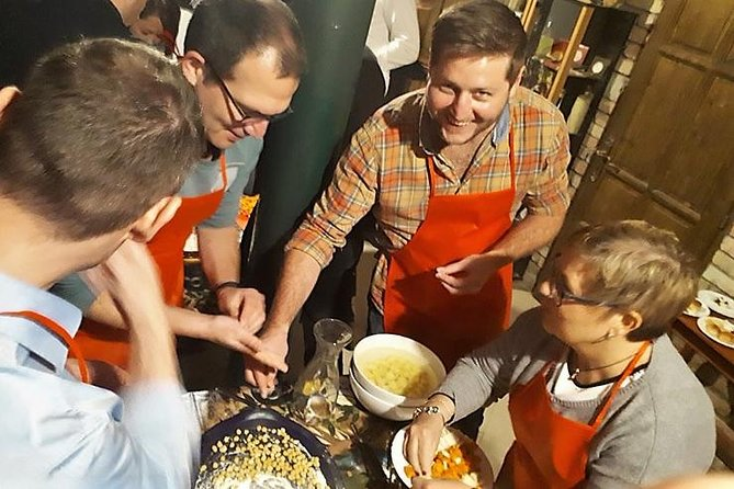 Goulash Cooking and Wine Tasting in Budapest for minimum 5 people